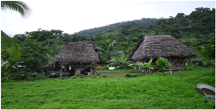 Guaymi's Indian village clinic in Panama